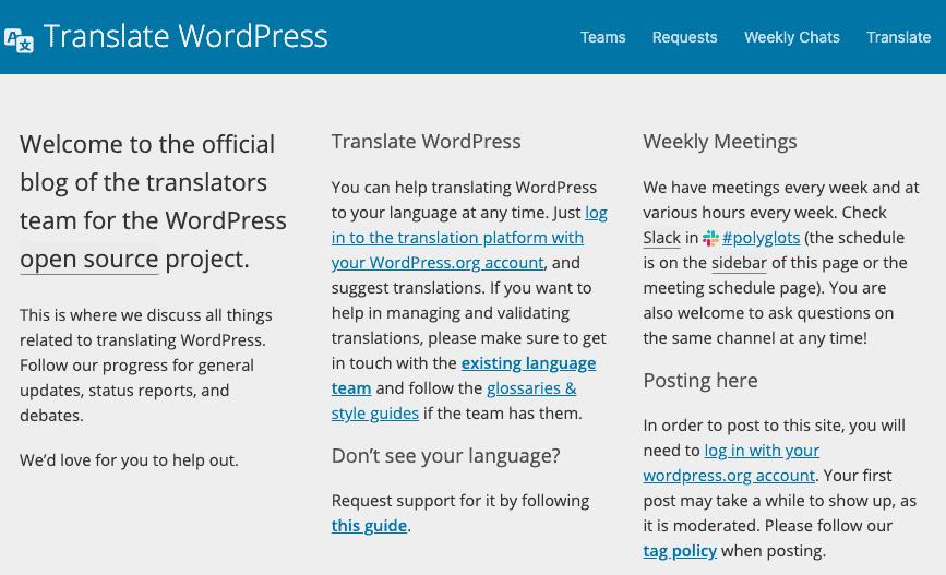 Menerjemahkan WordPress